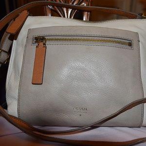 Fossil Leather Crossbody Purse Bag